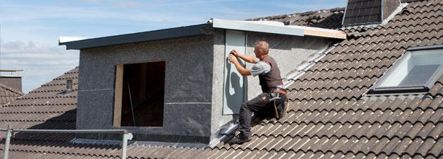 Dakkapel schuin of plat dak