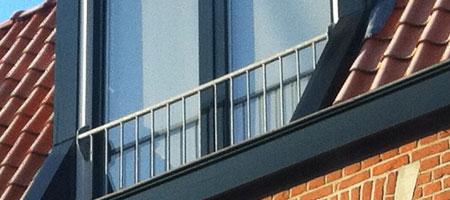 dakkapel Frans balkon hekwerk