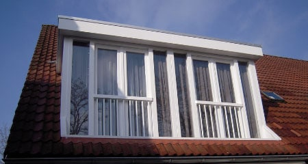 dakkapel met Frans balkon