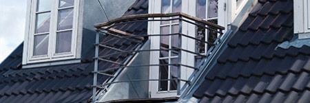 dakkapel met balkon Zwolle