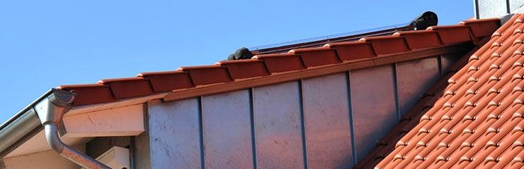 dakkapel met schuin dak