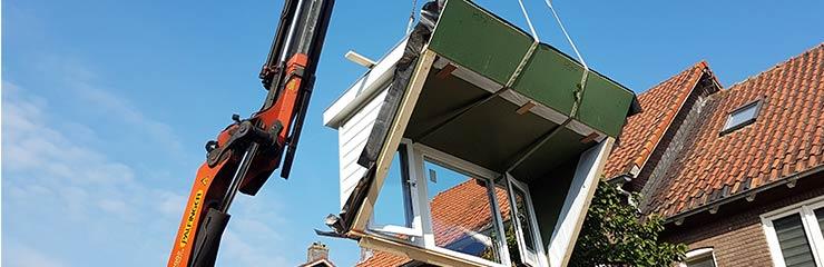 dakkapel plaatsen Leiden