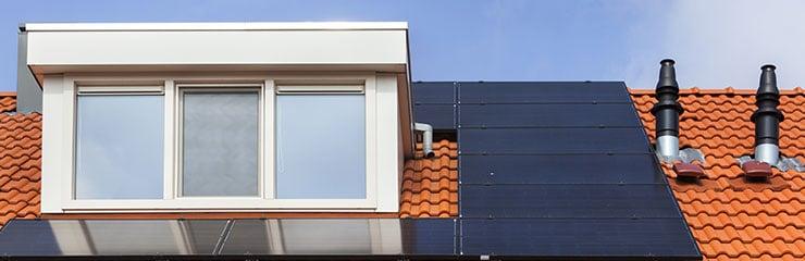 dakbedekking voor dakkapel met plat dak