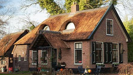 Dakkapel in uw rieten dak dakkapellen van riet scherpe prijzen