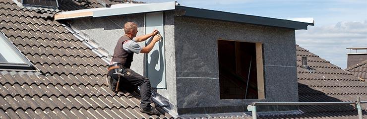 dakkapel vervangen werkwijze