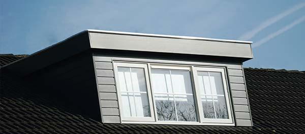 dakkapel met plat dak