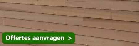 dakkapel met red cedar hout